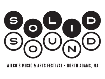 Solid Sound 2019 black and white black and white logo logotype music festival wilco typographical logo logo design logo
