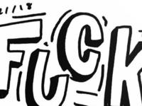 Doodle 03 // Fuck
