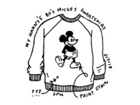 Doodle 06 // Mickey