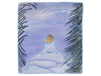 Shenandoah virginia alone shenandoah nature personal ipad color panel drawing illustration