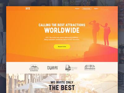 XYZ Landing page
