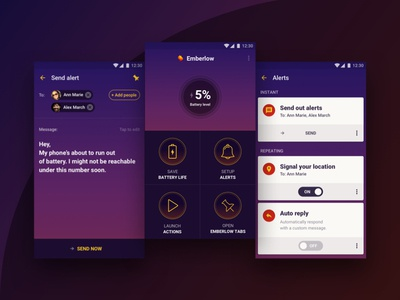 Emberlow App Concept