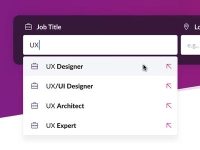 Jobmagnet Web Search Autosuggest