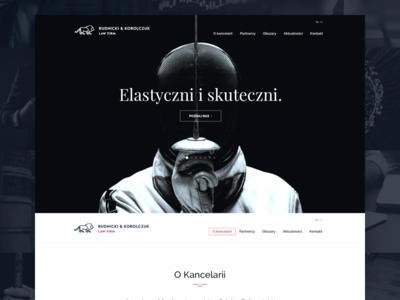 Rudnicki & Korolczuk Law Firm Website