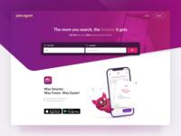 Jobmagnet Homepage Design