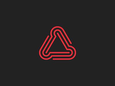 CAD/CAM/CNC abstract modern symmetrical geometric logo industrial computing cam cad cnc triangle