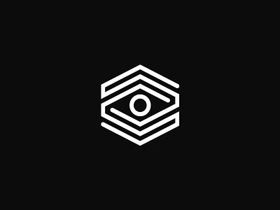 ArtBnk eye geometric logo modern art