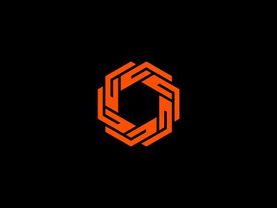 Industrial patent management technology symmetry symmetrical rotational patent modern minimal logo innovation geometrical