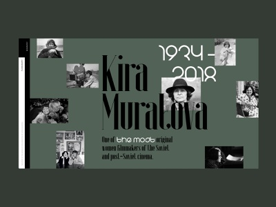 Kira Muratova cinema filmmaker ukraine green desktop website