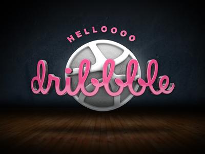 Helloooo dribbble