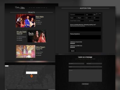 Production Co. Website