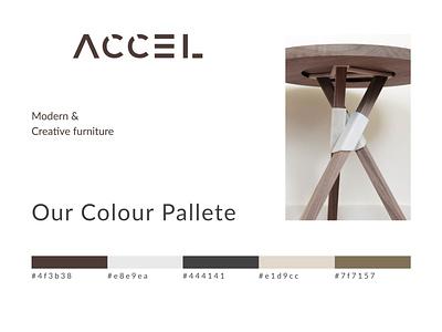 A C C E L design branding