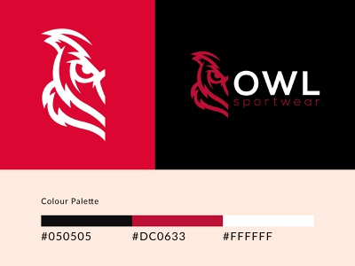 Icon & colour pallete_OWL design icon logo