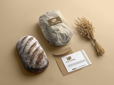 Branding for La Fetta logo branding design