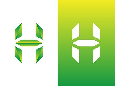 H Letter Logo Design for sell creative alphabets techniques youtube 3d social media tech h letter letter lettermark monogram brand logo design logodesign branding logo