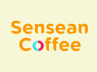 Sensean Coffee illustration mockup logo adobe illustrator logo design design branding