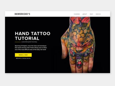First Shot 2018 ui tattoo education school class tutorial