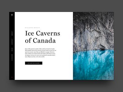 Ice Caverns of Canada ui editorial explore canada nature outdoors type web
