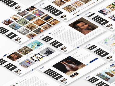 Iskusnik: Pages icon website web ux ui typography minimal logo graphic design design