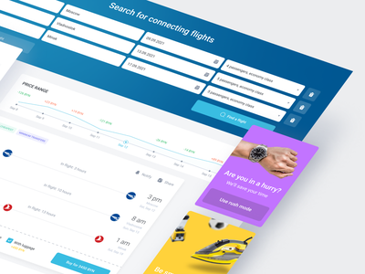 Airlines web application user typography icon design dashboard app web ui ux