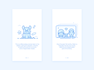 Daily Ui #02 Landing Page for stray dogs
