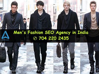 Best Men's Fashion SEO Agency in India design logo illustration staffing branding jewelry jewellery seo app fashion