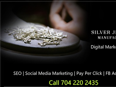Are you Silver Jewellery Manufacturer looking for Customers? illustration design branding jewelry fashion jewellery