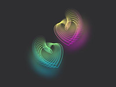 Valentine's Day illustration vector art lovecolor loveposter valentinesday vector design