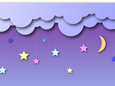 Dreams minimal illustration design vector