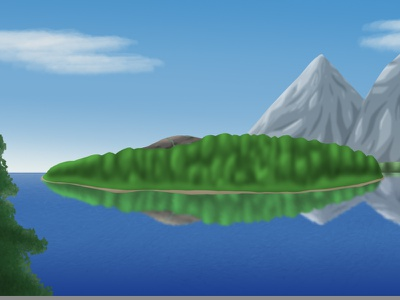 Isle (Daytime) illustration