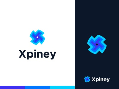 Xpiney Logo Design logotype infinity logo smart design flat modern ui abstract letter x logo flat logo vector agency simple creative illustration mark branding minimal app icons logodesign tech logo