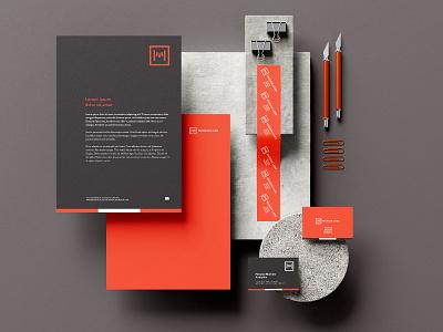 Margin Labs Logo Branding identity design corporative e-commerce vector logo illustrator branding design