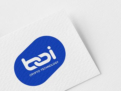 BOI Crypto Technology Logo trading e-commerce blockchain crypto identity branding logo design branding design typography corporative logo branding logo design