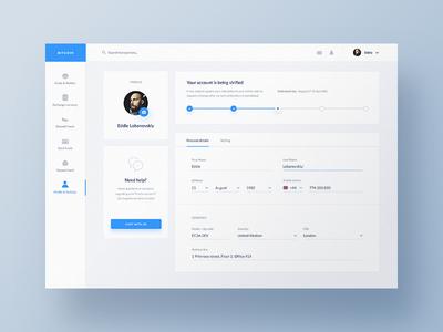 Crypteo — Bitcoin / Ethereum Exchange Dashboard