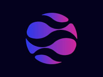 Circle logo | Wave Logo | Bird Logo | iconic logo | App Icon gradient color iconic logo tv logo fish logo wave logo bird logo creative brand modern logo minimalist logo flat logo creative logo branding brand identity app icon app circle logo