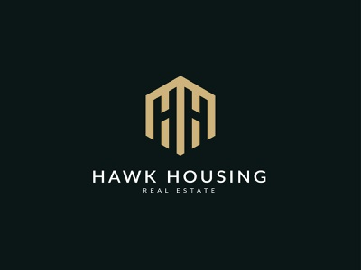 Hawk Housing logo | Real Estate Logo | Polygonal Logo custom logo modern logo minimalist logo logo creative logo lettermarklogo lettermark polygraphy h logo design h letter logo h logo h polygon polygonal polygonal logo realestate real estate real estate logo real estate logo design