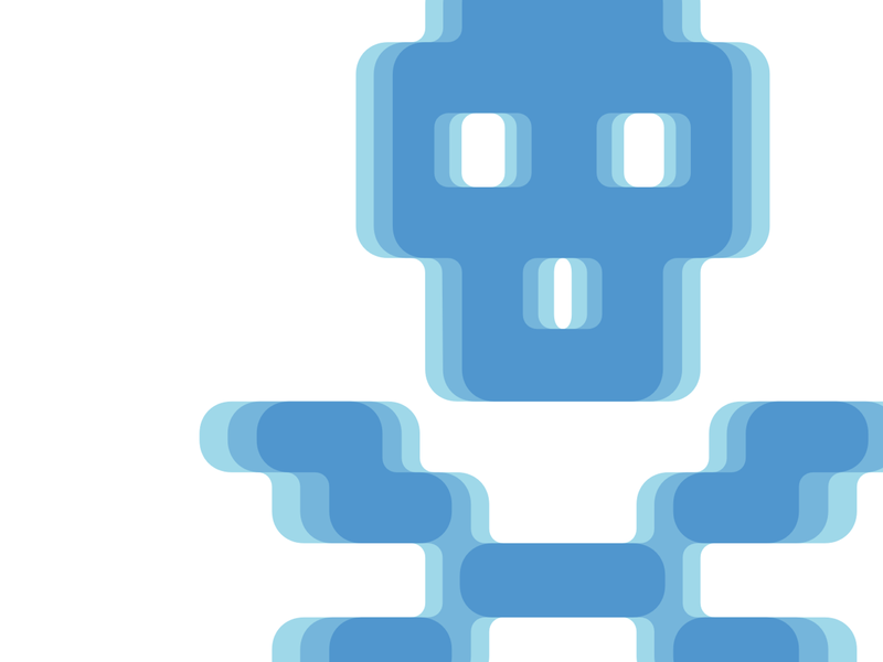 Pixel skull and crossbones pixel font pixel art skull design retro typeface 8 bit pixel typography font