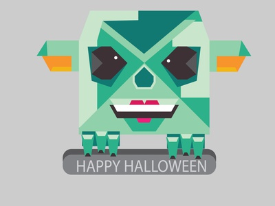 HALLOWEEN flat icon vector illustration