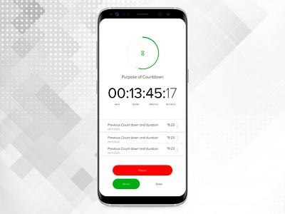 Countdown Timer design website ui branding app ux dailyui