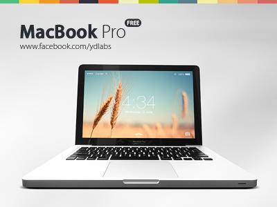 Free Macbook Pro (PSD) free macbook pro free psd mockup product mockup