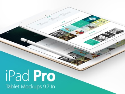 iPad Pro Mockups Pack