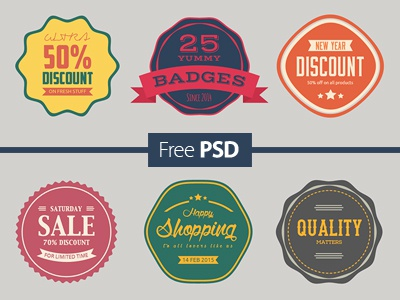 Free Psd Sale Badges Collection collection buy premium colour promo store offer badges discount promotion shopping sale