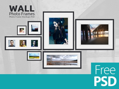 Free Psd Photo Frames Mock Up Design freepik frame psd freebie mock-up freemockup mockup photoframe psd freepsd