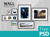 Free Psd Photo Frames Mock Up Design