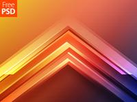 Geometric Background Free PSD