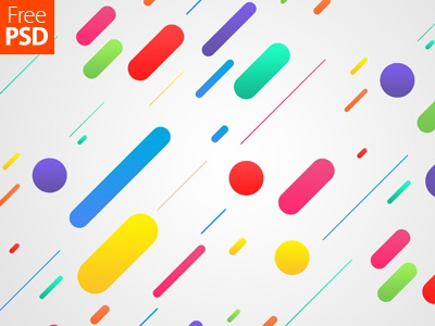 Abstract Shapes Background Free Psd freepsd freebie colourful shapes desktop wallpaper wallpaper abstract