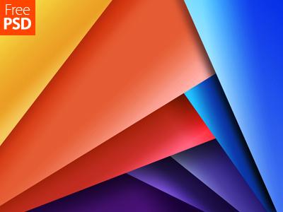Multicolor Geometrical Design Free Psd desktop wallpaper mobile wallpaper psd freepsd design abstract pattern background