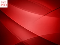 Abstract Red Background Design Free Psd