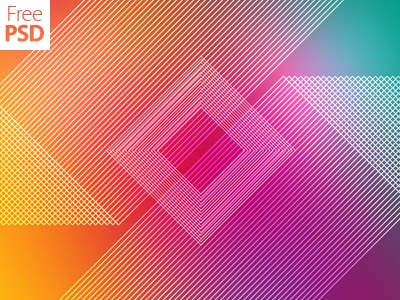 Multicolor Stripes Background Free Psd multicolor polygon geometric freepsd feebie psd wallpaper abstract background