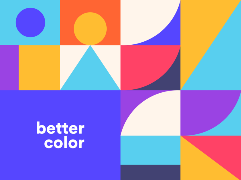 BetterColor Illustration simple debuts interface colorscheme coloring uidesign palette colour colors color branding icon flat illustration vector logo ui ux design bettercolor